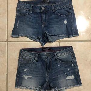 Fran demim shorts